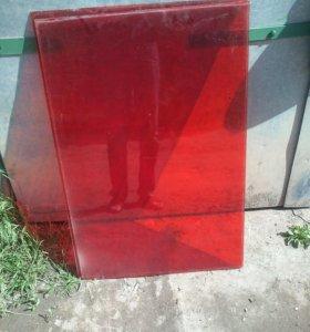Стёкла красные 65×100см 8шт.