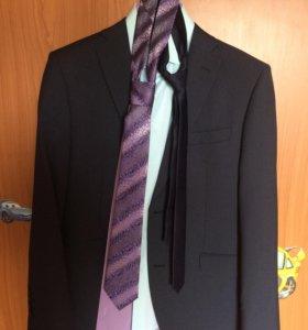 Костюм на выпускной, рубашка, галстук