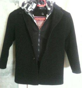Пальто полуспортивное для мальчика( 4-6 лет)