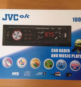 Новые магнитолы JVC