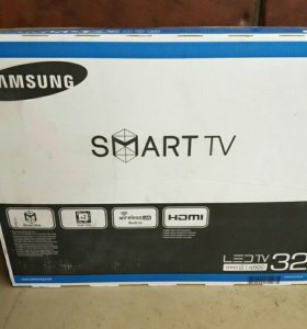 Samsung 32(81см) Smart TV(Wi-Fi) USB, DVB-T2, C, T