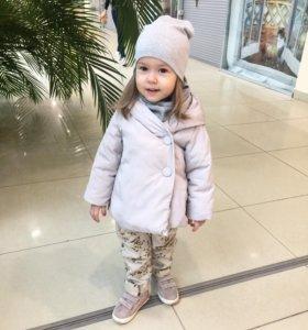 Куртка Zara Ботинки zara