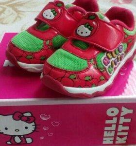 Кроссовки детские, для девочки Kakadu Hello Kitty