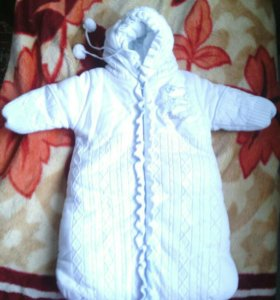 Конверт утепленный для новорожденных