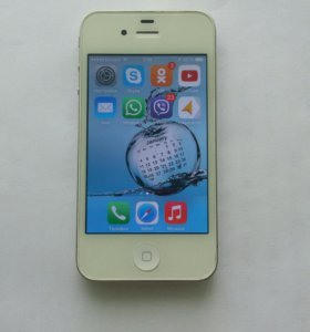 iPhone 4,White, 16GB