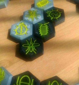 Настольная игра hive (улей) + 3 дополнения