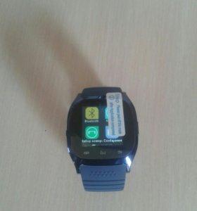 Водонепроницаемый smartwatch m26 bluetooth smart w