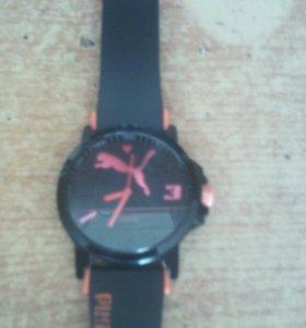 Часы фирмой пума