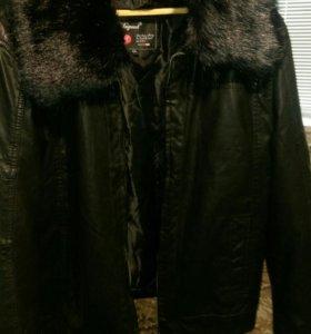 Кожаная куртка, муржская. Турция.