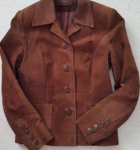 Пиджак натуральная замша