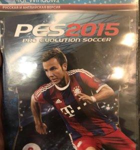 Игра футбол PES 2015