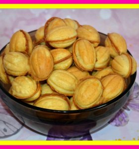 Орешки с домашней вологодской сгущенкой