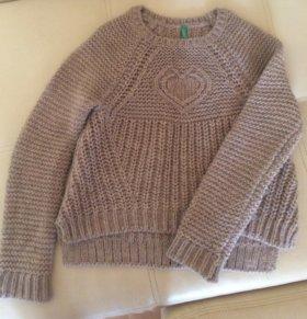 Пуловер для девочки Benetton