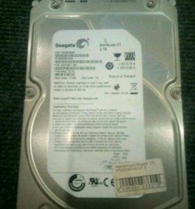 Жесткий диск Seagate 2 Tb