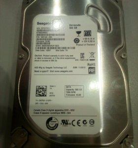 Жесткий диск 3.5 Seagate 500 Гб