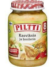 Питание Piltti мясо и рыба из Финляндии