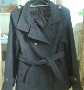 Модное пальто 46-48р