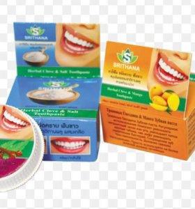 Отбеливающая зубная паста Тайланд