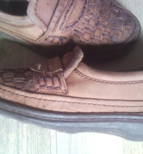 Летняя обувь натуральная кожа 40 размер