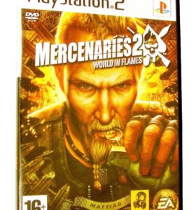 Merctnaries 2 world in flames для ps2 не лицензия