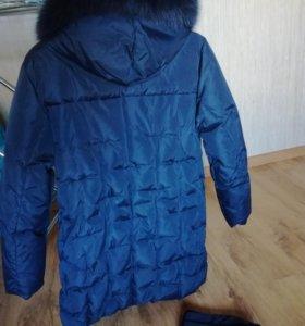 Зимняя куртка р. 46