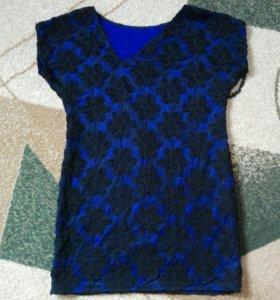 Кружевное платье ручной работы