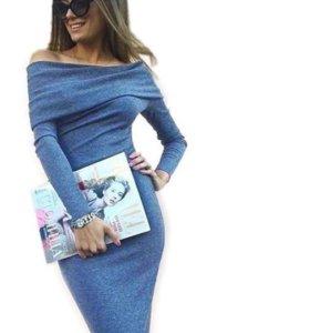 Эффектное платье по фигуре новое