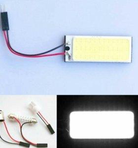 Светодиодная плата лампа COB 36 светодиодов