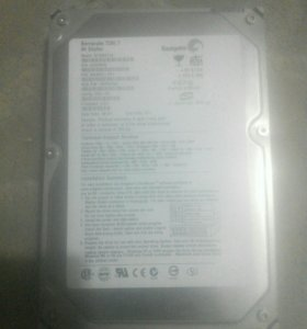 Жосткий диск Barracuda 7200.780 Gbytes