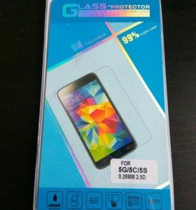 🔥Стекло для iPhone 5 / 5s.
