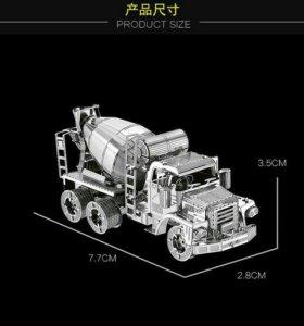 Сборная металлическая 3D модель-Миксер