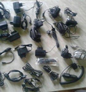 Зарядки, кабели и наушники