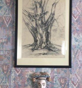 Лепка рисунки на заказ от проф скульптора и худож.