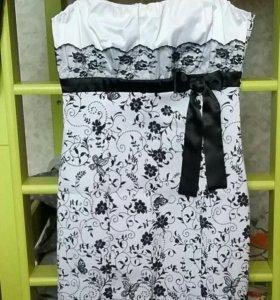 Платье нарядное 44.