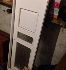 дверь с рамой