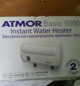 Электрический водонагреватель проточнного типа