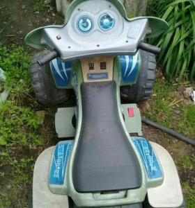 Детский электро-квадроцикл