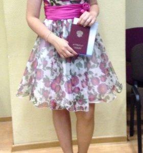 Коктейльное платье для выпускного