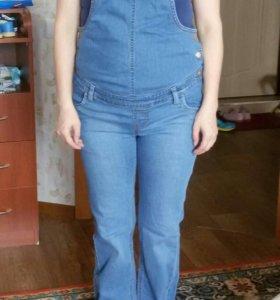 Комбинезон джинсовый для беременных б/у
