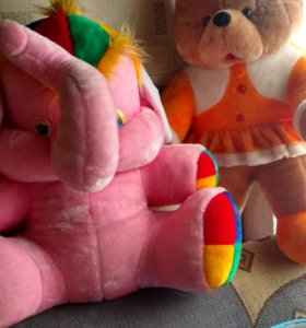 Мякие игрушки