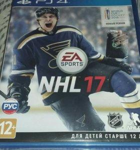 Продам Nhl17 для PS4