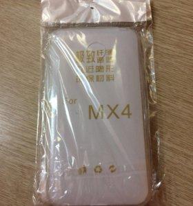 Силиконовый чехол Meizu MX 4