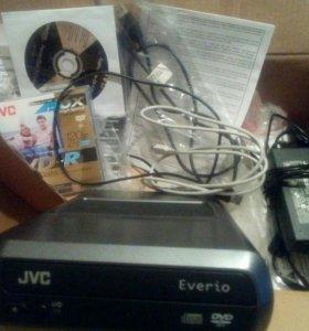Внешний мульти dvd JVC