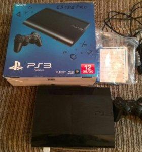 Sony Playstation 3  super slim 500гб