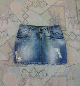 JustCavalli юбка джинсовая