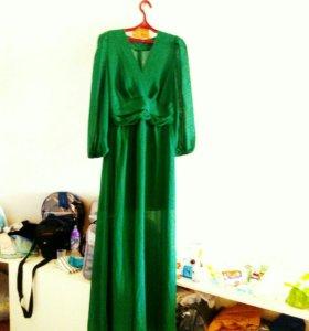 Вечернее платье, длинное 44 размер