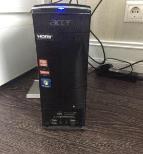 """ПК Acer 4х ядерный с монитором Dell 20"""""""