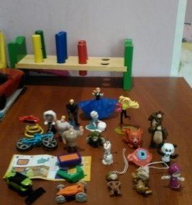 Даром игрушки из киндера