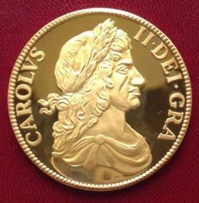 Англия шиллинг 1662г - чистое серебро
