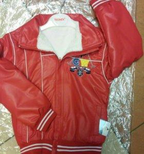 Куртка р-ры 110-116